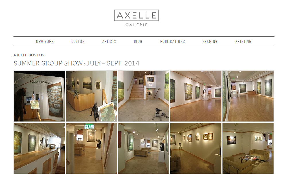 AXELLE BOSTON - SUMMER GROUP SHOW : Fabienne Delacroix - JUILLET - SEPT 2014