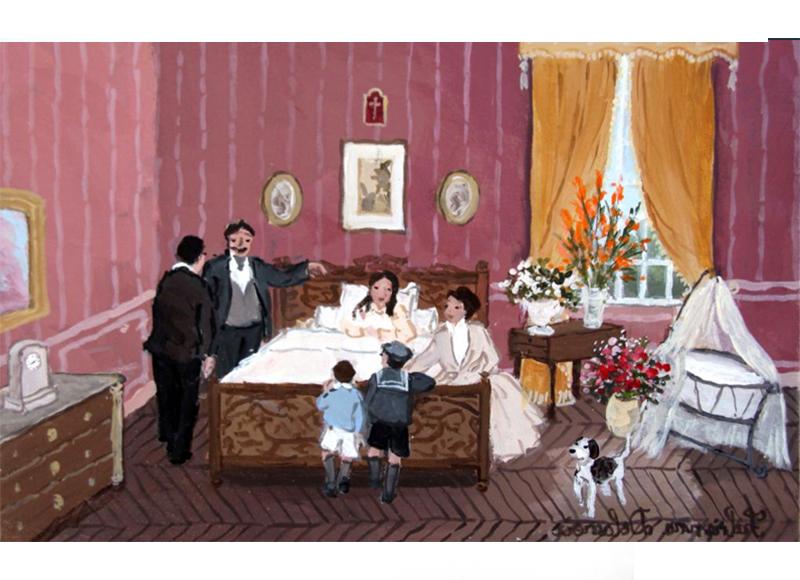 sc nes d 39 int rieur les uvres de fabienne delacroix fabienne delacroix. Black Bedroom Furniture Sets. Home Design Ideas