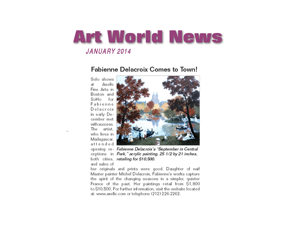 Art World News