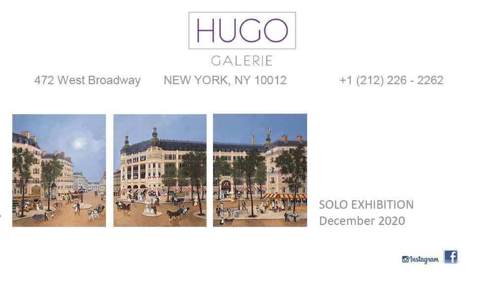 HUGO GALERIE : Solo Exhibition New-York Décembre 2020 – Fabienne Delacroix