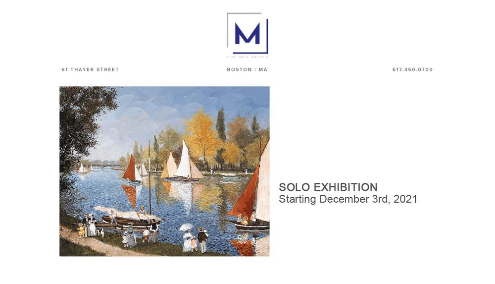 M Fine Arts Boston : Solo Exhibition - 03 Décembre 2021 – Fabienne Delacroix